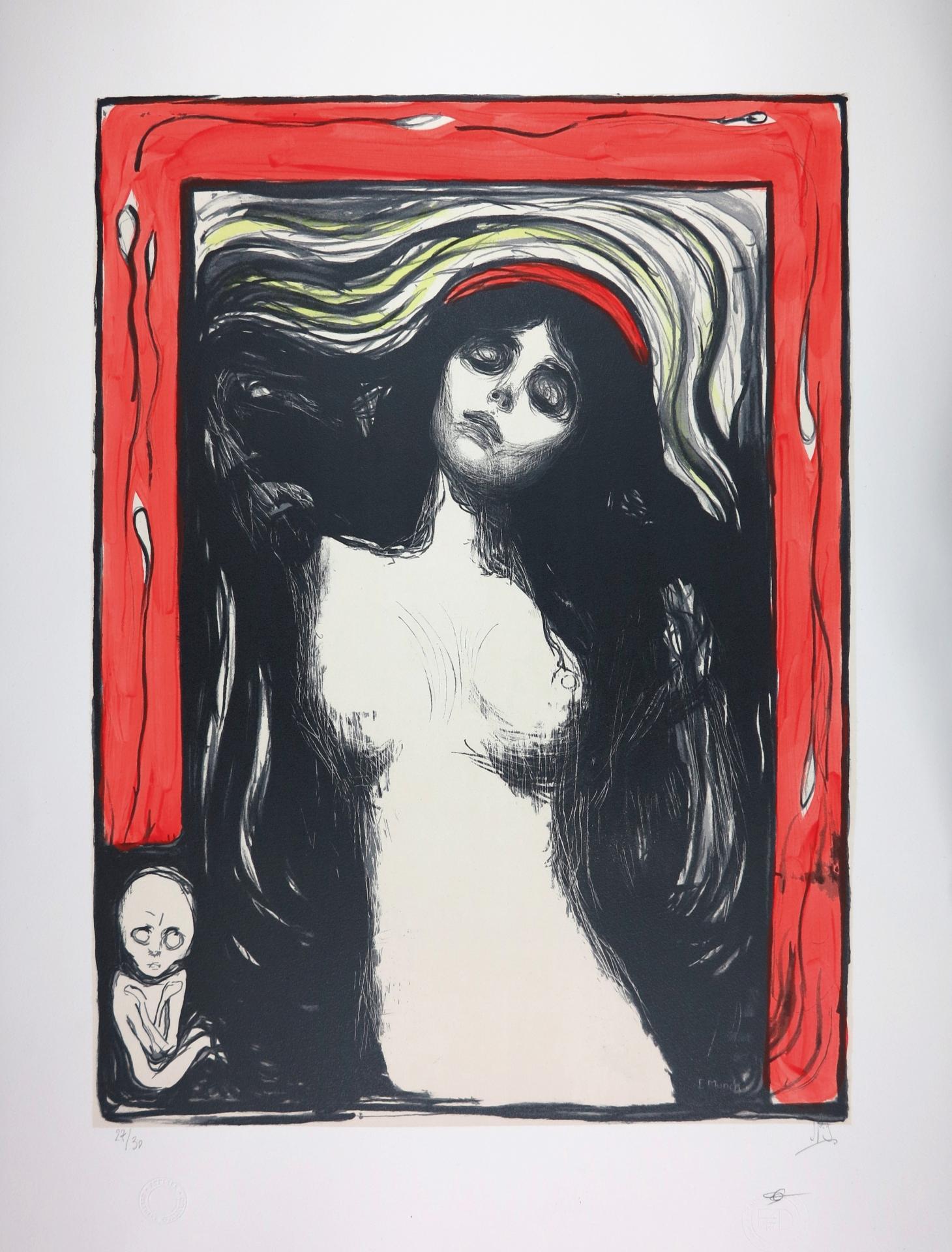 EDVARD MUNCH | Madonna, 1895 | Lithograph