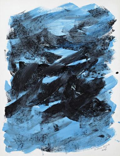 Marcel Dumont, Vision intérieure, Les oliviers en hiver
