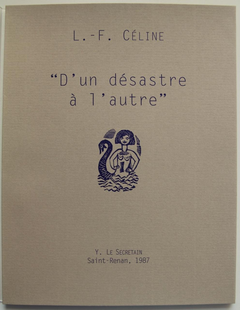 Charles Bonabel,L-F Céline,Correspondance