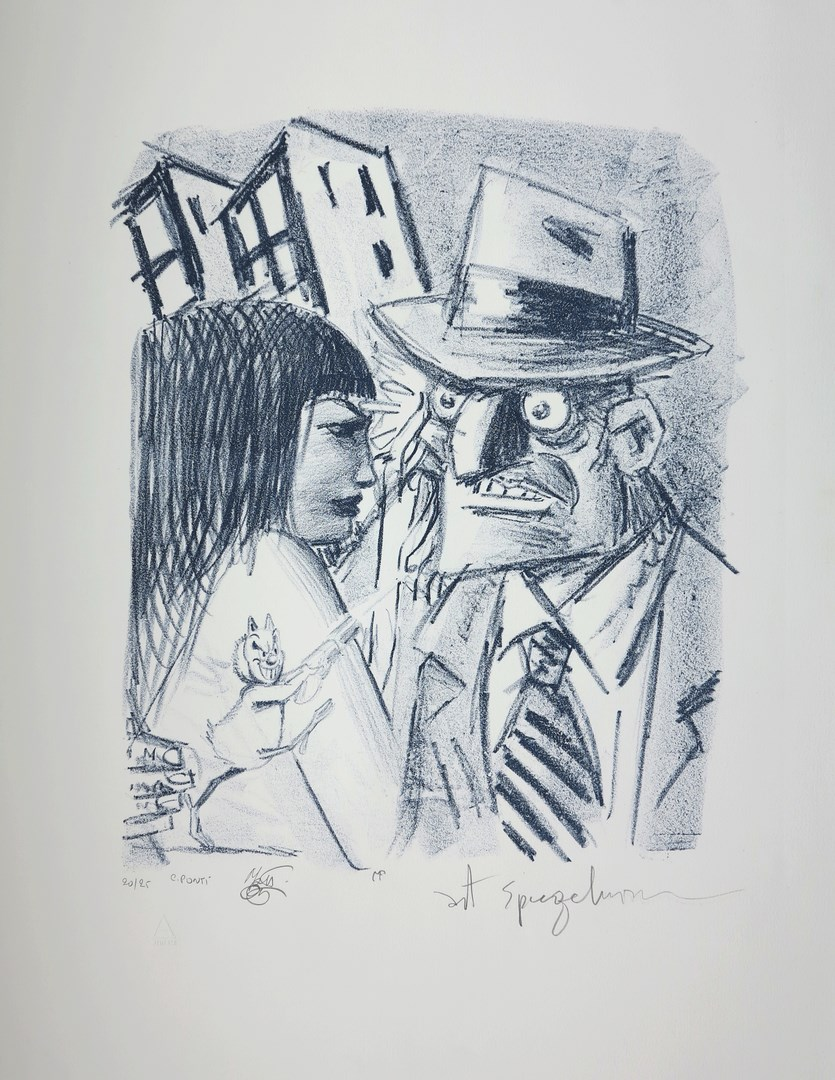 Art Spiegelman, Lithograph, FRANCE ART DIFFUSION