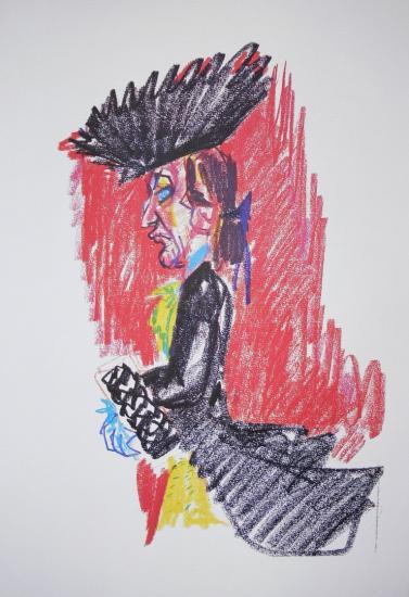 Federico Fellini, Lithographs 1976, FRANCE ART DIFFUSION