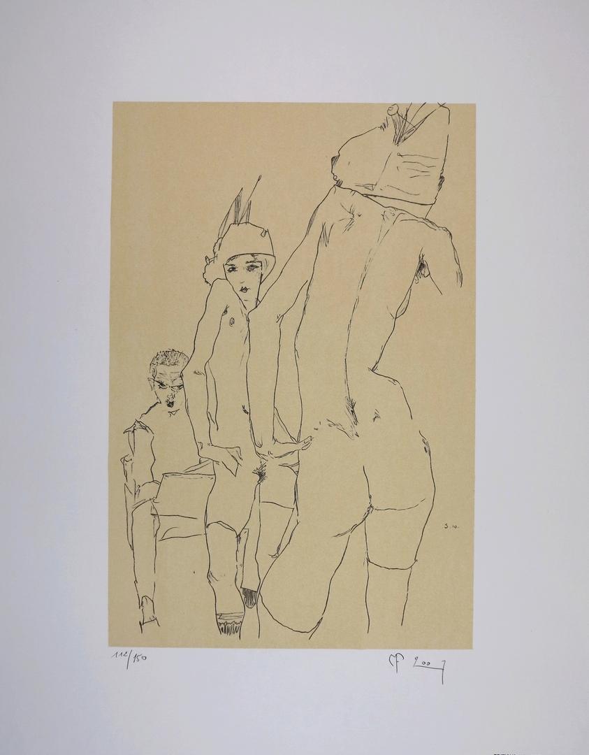 Egon SCHIELE, Lithographies