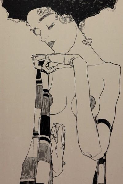 Egon SCHIELE Lithograph