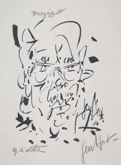 Gen Paul, Dernier autoportrait 1974
