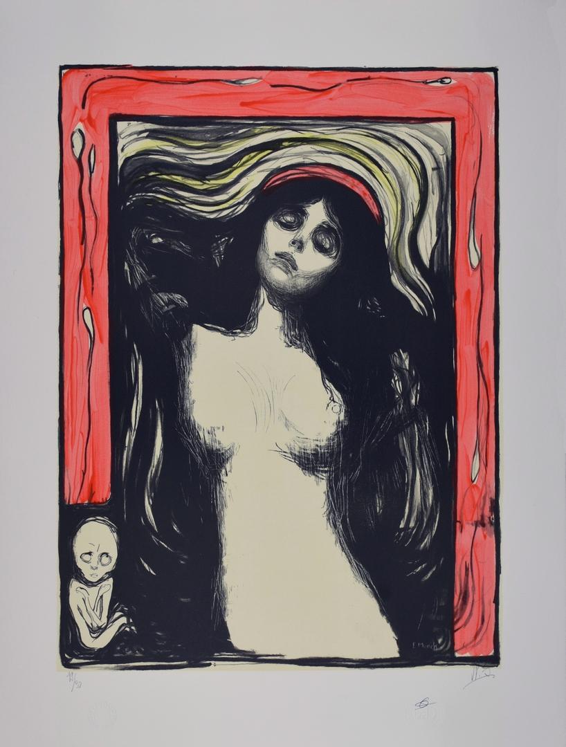 EDVARD MUNCH | La Madone, 1895 | Lithographie