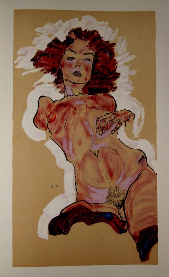 Egon SCHIELE - EROTICA - FRANCE ART DIFFUSION
