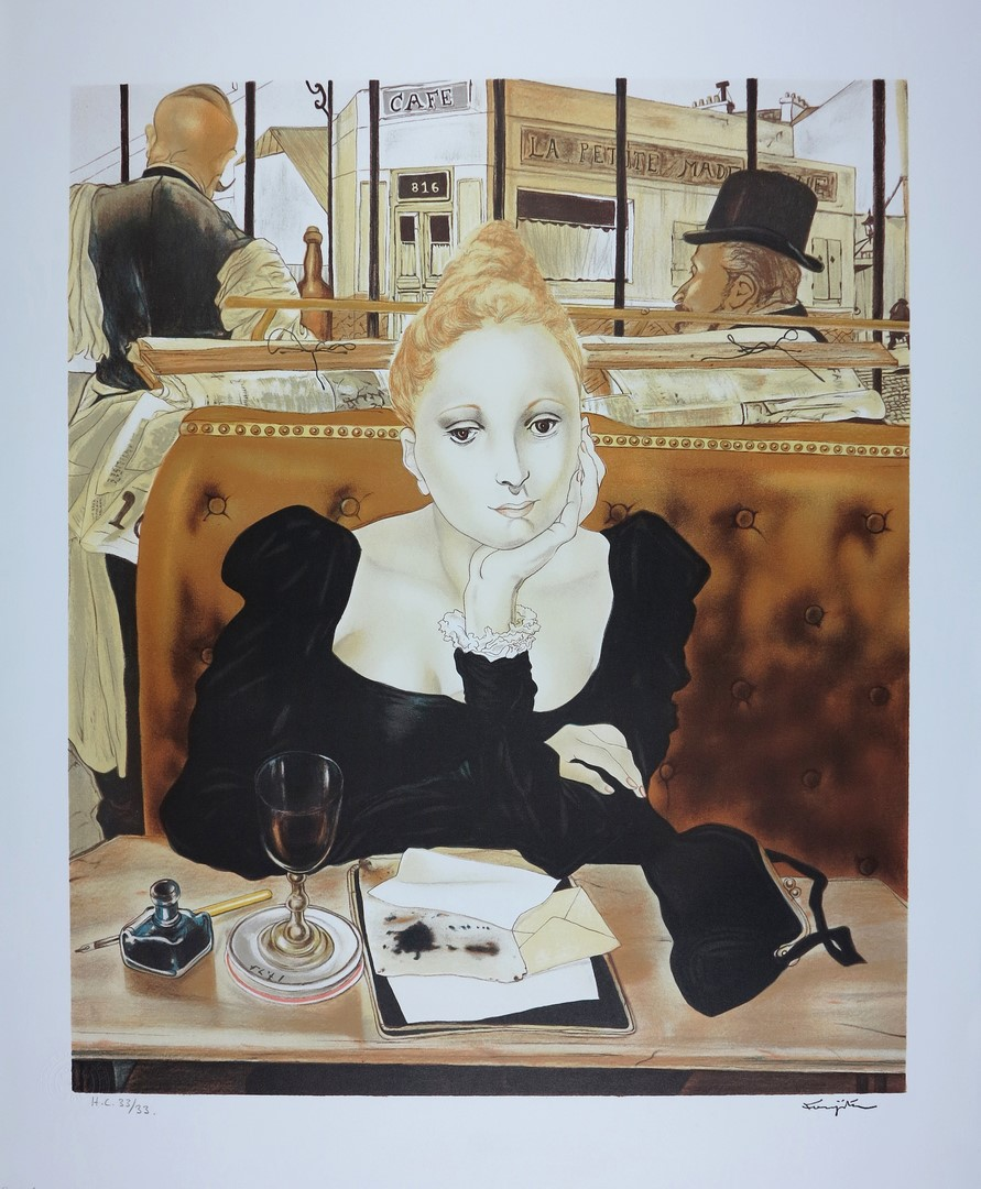 FOUJITA Lithographs