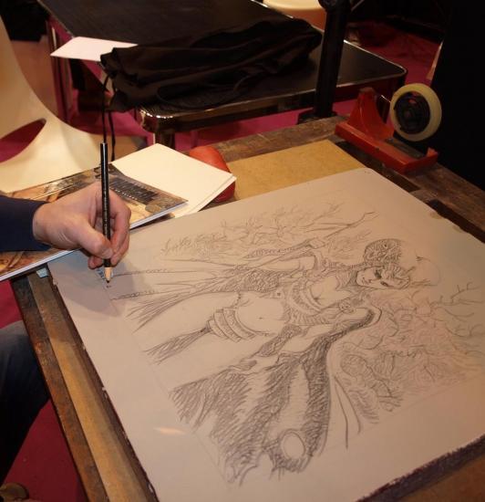 Giulio De vita Lithograph FRANCE ART DIFFUSION