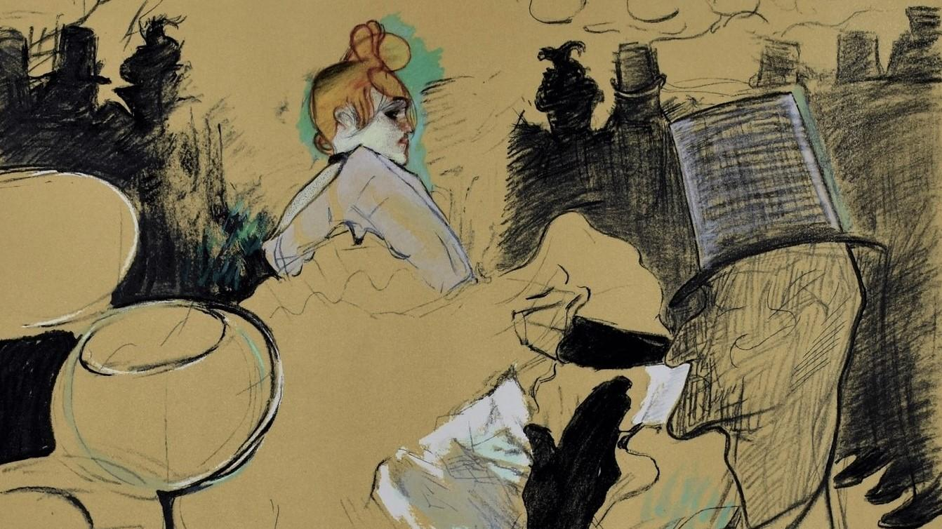 TOULOUSE-LAUTREC | Lithographie | Moulin Rouge, 1891