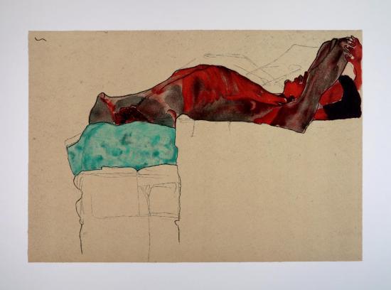 Egon SCHIELE - Lithograph - FRANCE ART DIFFUSION
