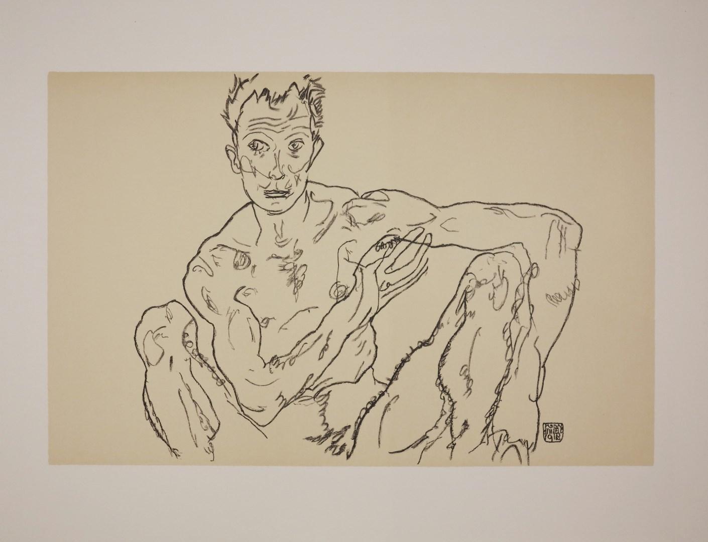 Egon SCHIELE Lithographies