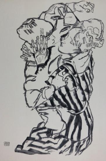 Egon Schiele Lithographs