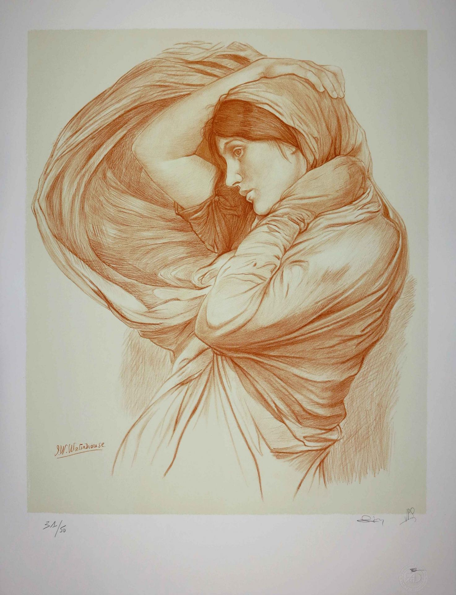 John William Waterhouse LITHOGRAPH