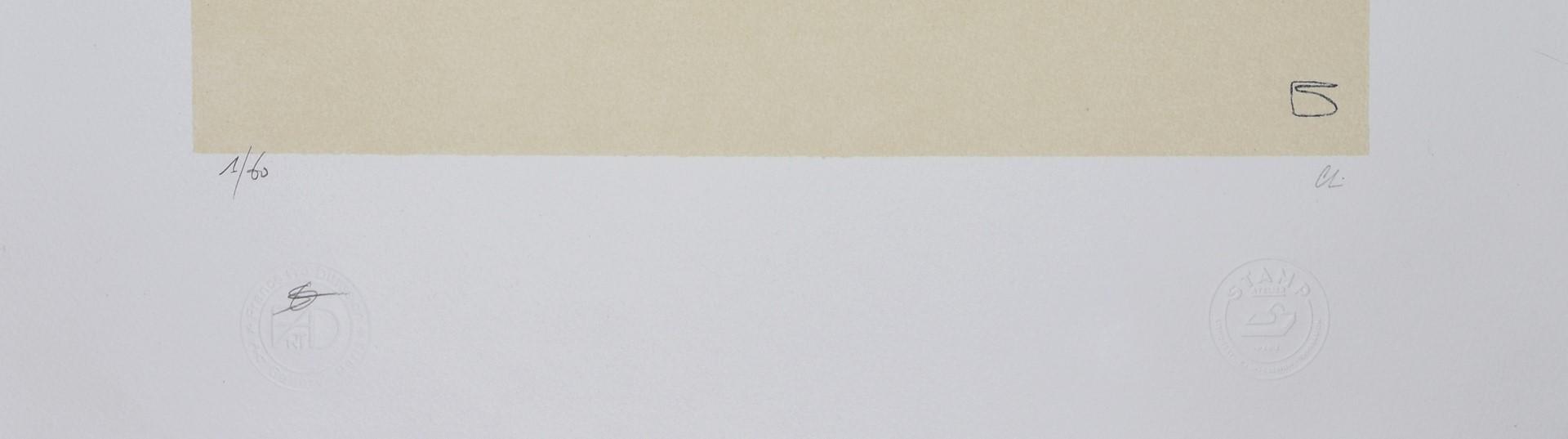 EGON SCHIELE, Lovers 1909, Lithograph