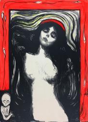 Edvard Munch, Madonna Lithograph