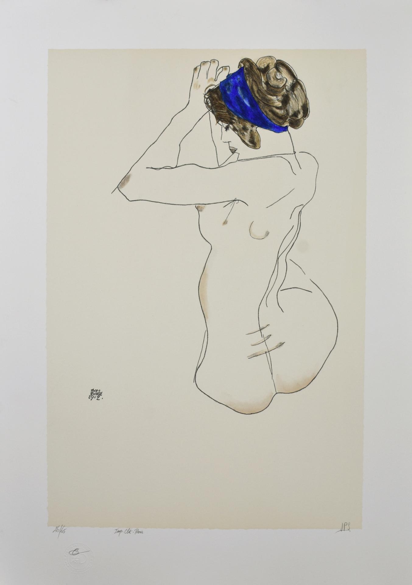 Schiele turban bleu 2665 01 copier