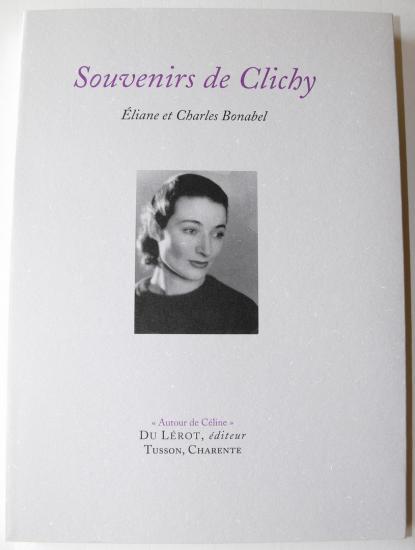 Eliane Bonabel - Souvenirs de clichy