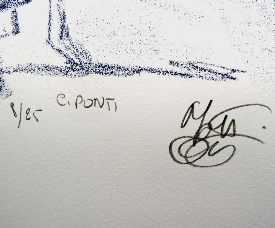 Art Spiegelman, mattoti, ponti, Lithographie originale