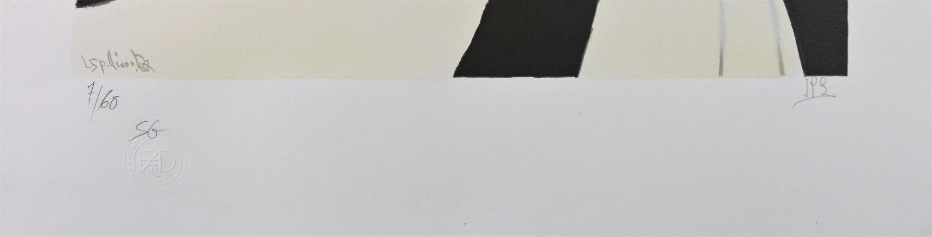 LEON SPILLIAERT,Vertige 1908,Lithographie