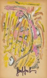 Voyage au bout de la nuit illustrations rehaussees gouache 1942